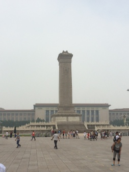Students Monument - Tiananmen Square