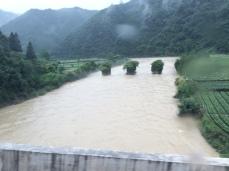 River at Huangshan