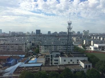 View over Suzhou