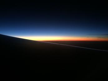 Sunrise over Australia
